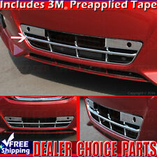 Fits 2016 2017 NISSAN ALTIMA Chrome Grill OVERLAY Cover Insert Lower Bumper 1pc