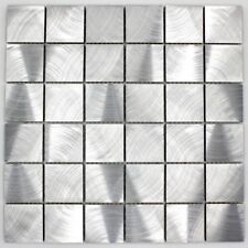 mosaique credence cuisine en aluminium ma-alu48
