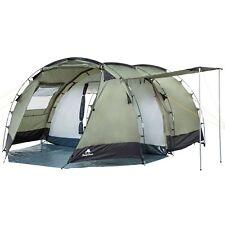 CampFeuer Tunnelzelt Familienzelt Campingzelt Zelt 4 Personen Olivegrün 3000 Mm