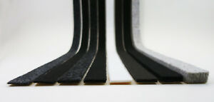 Profi Filzstreifen 20mm breit   Filzband stark selbstklebend   Filz 2-10mm dick