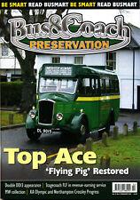 BUS & COACH PRESERVATION 13/09 FEB 2011 Vectis Ace,Malta,Bristol MW,Fleetline 50