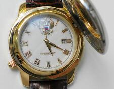 RUSSIAN WATCH RUSSIAN TIME QUARTZ PRESIDENT GOLD PLATING 2115/2014202 44