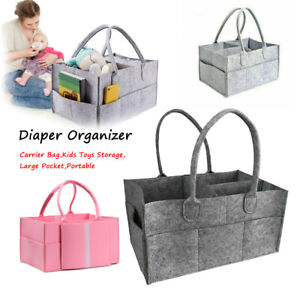 Products Nappy Changing Baby Diaper Organizer Carrier Bag Basket Tote Bag