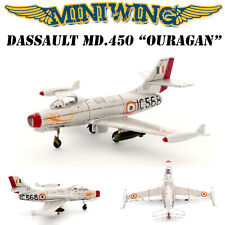 1/144 Miniwing Ouragan Dassault MD450 French/Indian Air Force Resin Model Kit