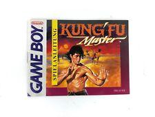 Kung Fu Master - Spielanleitung - Nintendo Gameboy