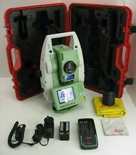 """LEICA TS12 P 3"""" R400 ROBOTIC TOTAL STATION FOR SURVEYING W ONE MONTH WARRANTY"""