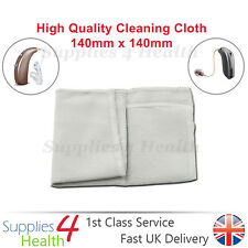 Hearing Aid Cleaning Cloth Accessory  High Quality Soft Finish
