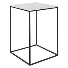 NESTOR Tall marble occasional table 391809 RRP £295  DDEM1