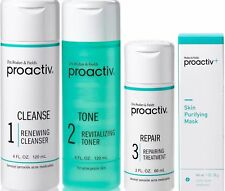 Proactiv 4 piece 60 Day Kit 3 Step System 1 oz Mask proactive US 2020 expiry