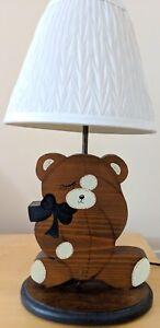 Cute Teddy Bear Lamp. Perfect Valentine gift!