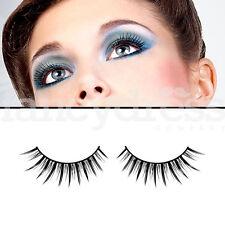 BACI Black Glamour Eyelashes Fancy Dress Formal New Years False Lashes 557