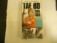 BILLY BANKS TAE BO 2004 CAPTURE THE POWER - STRENGTH VHS NEW
