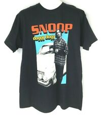 Snoop Doggy Dogg Car Graphic T-Shirt Black Mens Large New
