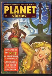 PLANET STORIES NOV. 1951, vol: 5 #3    Poul Anderson story.