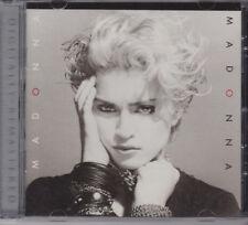 MADONNA by MADONNA + 2 BONUS TRACKS BRAND NEW NOT SEALED CD REMASTERED