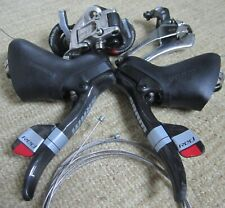 SRAM Red 10 speed mini group: levers, derailleurs, 2 new genuine SRAM cables