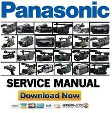 Panasonic Camcorder Video Camera Service Manual and Repair Guide