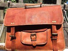 Classica borsa a tracolla in pelle cammello/Business da Ufficio/Borsa per Laptop (L37xH27xW10cm)