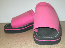 Target Size 7 Pink Black Lightweight Casual Shoes Slip On Shoe Open Toe
