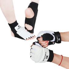 TaeKwonDo Foot Guard Half Gloves Protector Tkd Martial Arts Sparring Instep Gear