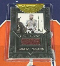 2020 The Complete Game of Thrones VR18 Daenerys Targaryen Gloves Costume Card