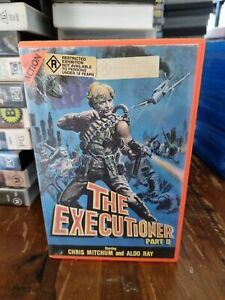 The Executioner Part 2 VHS
