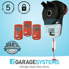 B&D Roll A Pro Garage Roller Door Motor with 3 Remotes
