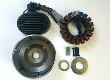 Harley Twin Cam 38amp 3 phase Charging syst fits 2001-06 Softail & 04-05 Dyna