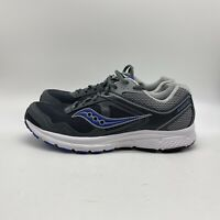 MENS SAUCONY COHESION 10  S25333-24 GRAY BLUE RUNNING SHOES SIZE 8.5