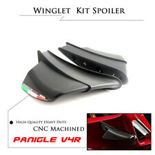 1:1 Winglet Aerodynamic Wing Kit Spoiler for Ducati Panigale V4 V4R Set 2018-20