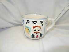 VINTAGE COFFEE CUP WITH OLD MAN DESIGN **MADE IN JAPAN** OKLAHOMA ESTATE SALE