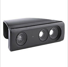 1X Super Zoom Wide-Angle Lens Sensor Range Adapter For Xbox 360 Kinect Black