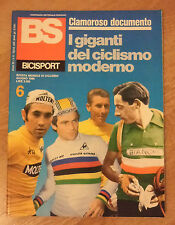 BS / BICISPORT N.6 DEL GIUGNO 1986 - POSTER GIANNI BUGNO (OK11)