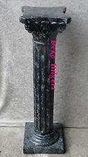Säule 1m  Stuckgips Blumensäule Antik Stil Anrichte Marmor Optik  1005  Fa127