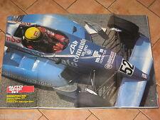 # POSTER GIANBATTISTA BUSI DALLARA 391 F.3 CAMPIONE ITALIANO 1991 CM.80X54