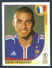PANINI KOREA/JAPAN WORLD CUP 2002- #040-FRANCE-DAVID TREZEGUET