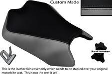 GREY & BLACK CUSTOM FITS APRILIA TUONO V4 V4R APRC 1000 11-13 FRONT SEAT COVER