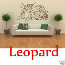 Wandaufkleber Wandbild Leopard 120cm Wandtattoo Aufkleber