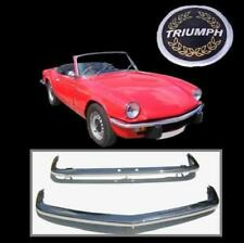 Triumph Spitfire MK4, GT6 MK3, 1500 Brand New Stainless Steel Bumpers