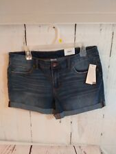 NWT Time And Tru Women's Jeans Shorts Size 12