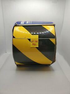 "Brady ToughStripe 4""x100' Yellow Non Abrasive 104372 Floor Marking Caution Tape"