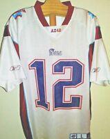 RARE Authentic Tom Brady Superbowl Jersey Arizona 42 Mesh Screenprint LRG Reebok