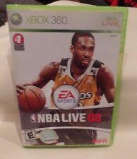 XBOX 360 LIVE, EA SPORTS, NBA LIVE 08, GAME