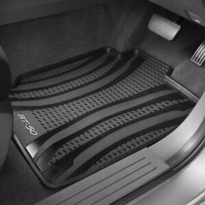 New Genuine Mazda BT-50 UP UR Freestyle Cab XT Rubber Floor Mats Part UP11ACRFV