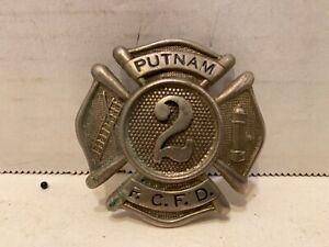 Putnam Port Chester New York Fire Department Badge