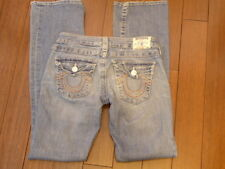 Women's TRUE RELIGION High Rise Bootcut Medium Wash Jeans Sz 26