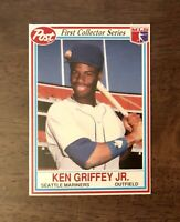 KEN GRIFFEY JR. 1990 Topps Post Cereal Seattle Mariners #23 HOF