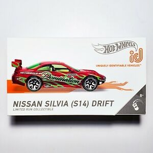 2021 HOT WHEELS id NISSAN SILVIA (S14) DRIFT (New/Sealed/Mint In Box, VHTF)