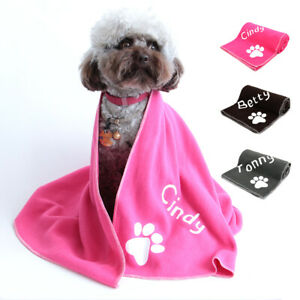Soft Microfiber Pet Bath Personalised Towel Ultra-Absorbent Quick Drying Towels