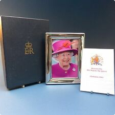 Silver Photo Frame Gift From Queen Elizabeth II 2003